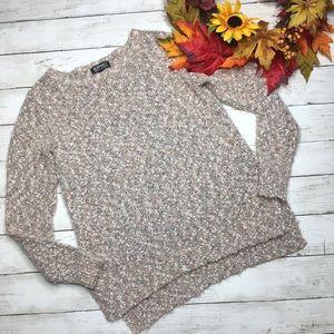 David Bitton Buffalo Knit Blush Pink Sweater sz S